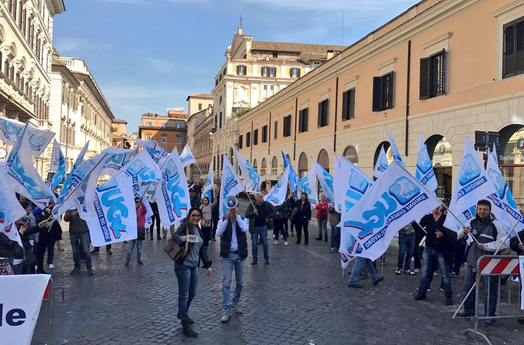 Igiene Ambientale, Multiservizi e Turismo in piazza per il rinnovo del Ccnl fermo da quattro anni