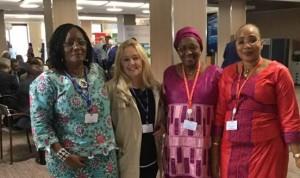 donne in rappresentanza del Governo della Republica del Ghana