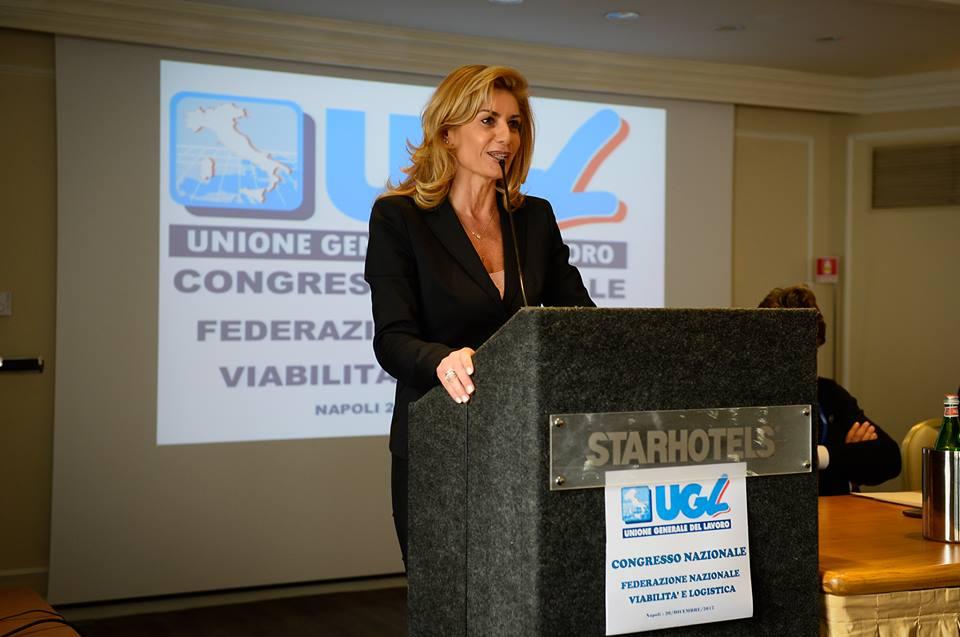 Paola Avella confermata Segretario Nazionale Ugl Viabilità e Logistica