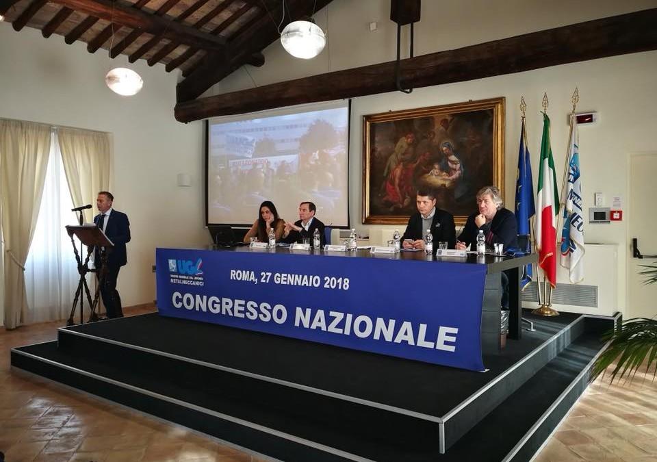 Il Congresso conferma Antonio Spera Segretario Generale Ugl Metalmeccanici