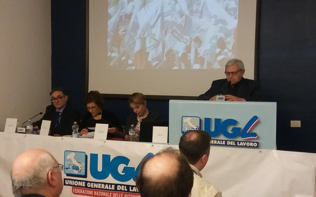 Congresso Nazionale Ugl Autonomie, confermato il Segretario Nazionale Michela Toussan