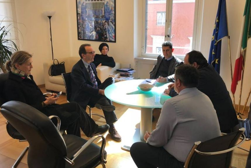 Il Segretario Generale incontra Stefano Parisi candidato del CD alla Regione Lazio