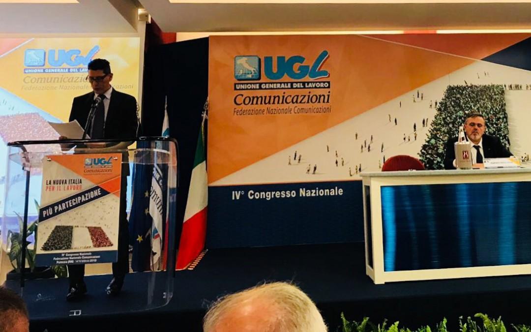 Congresso Ugl Comunicazioni, Muscarella confermato Segretario Nazionale