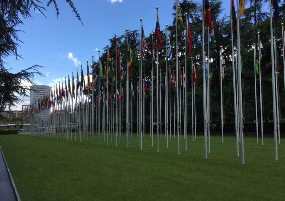 """Il CISCOS/UGL e' presente a Ginevra al Palais des Nations alla conferenza e ai lavori delle commissioni della """" 107th Session of the International Labour Conference""""."""