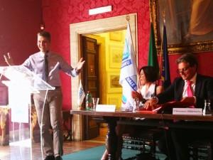 Ermenegildo Rossi, Segretario dell'Ugl Roma