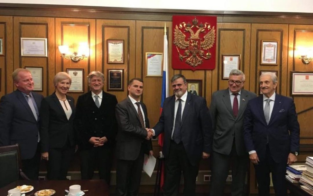 "UGL in Russia: "" DUMA Meeting – Russian Labour Commission"""