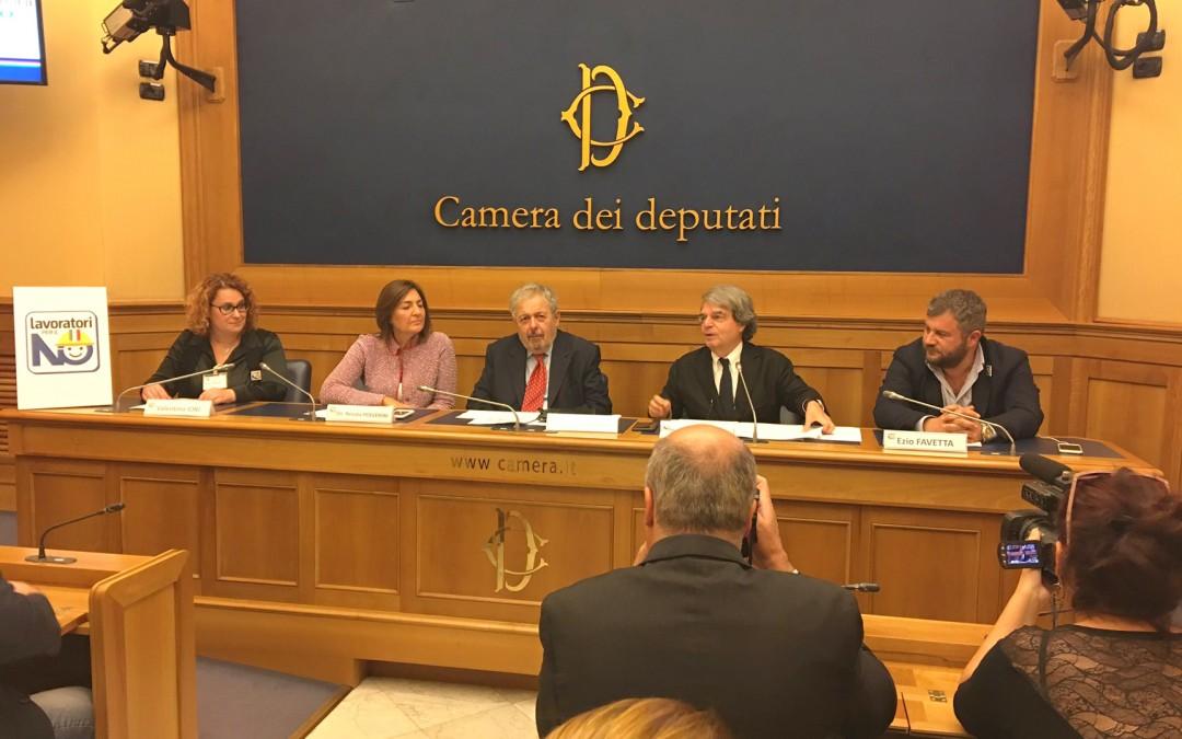 #10milakmperilNO  A Frosinone e Latina poi conferenza stampa alla Camera dei Deputati