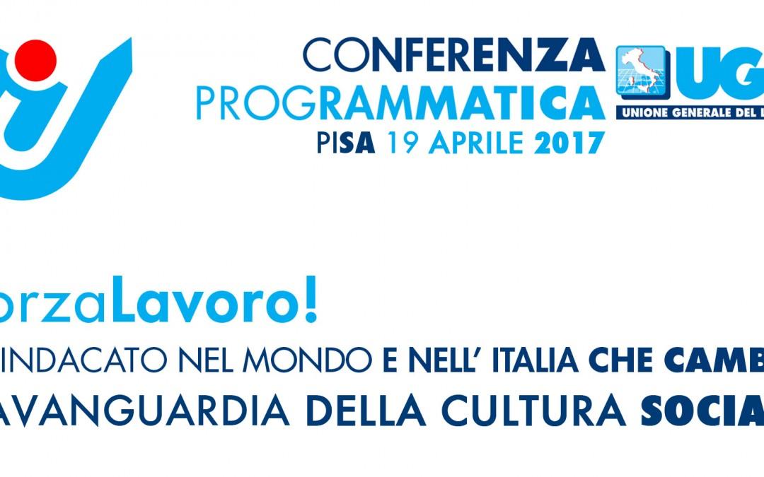 Domani a Pisa la 7° Conferenza Programmatica