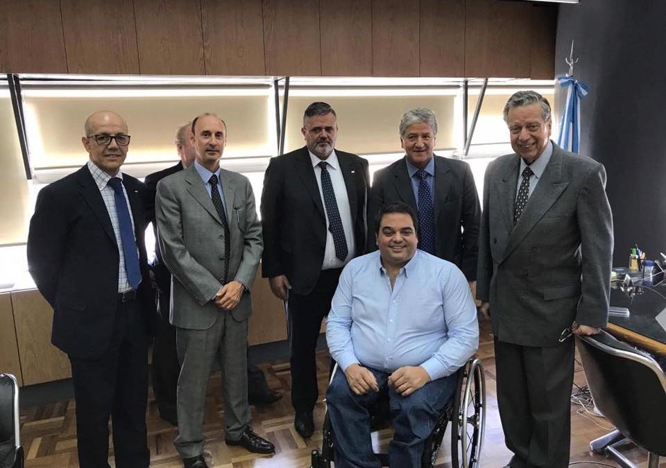 Il segretario generale incontra il ministro del Lavoro argentino Jorge Triaca