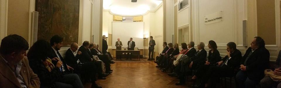 Buenos Aires: Capone interviene all'Istituto di specializzazione post-laurea dell'ordine degli avvocati