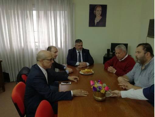 Ugl incontra il sindacato argentino CGT