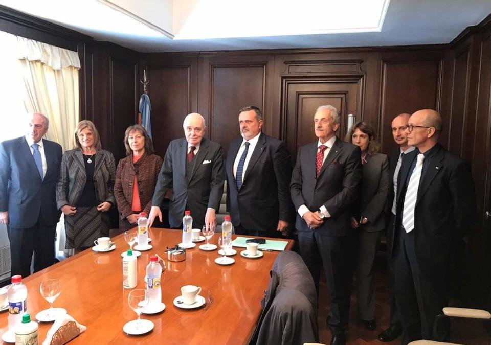Argentina: incontro con i membri della camara Federal de la Seguridad Social