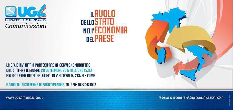 A Roma il convegno Ugl Comunicazioni su privatizzazioni