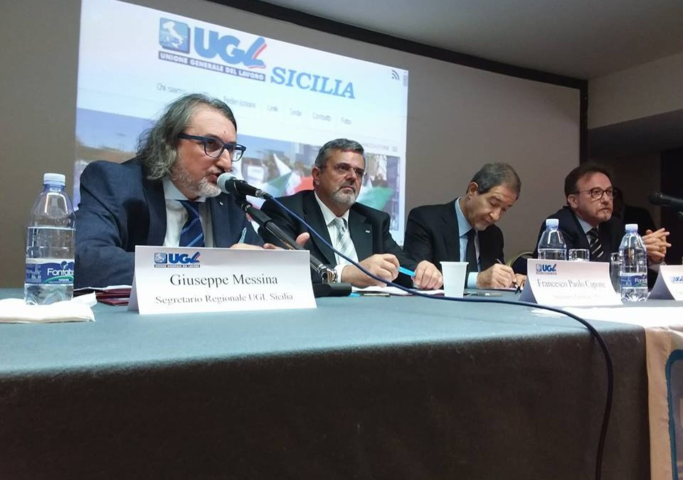 Riunione dei Quadri Sindacali in Sicilia con Capone e Musumeci