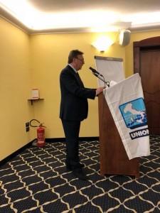 Il Segretario Nazionale dell'Ugl Mare e Porti, Pasquale Mennella