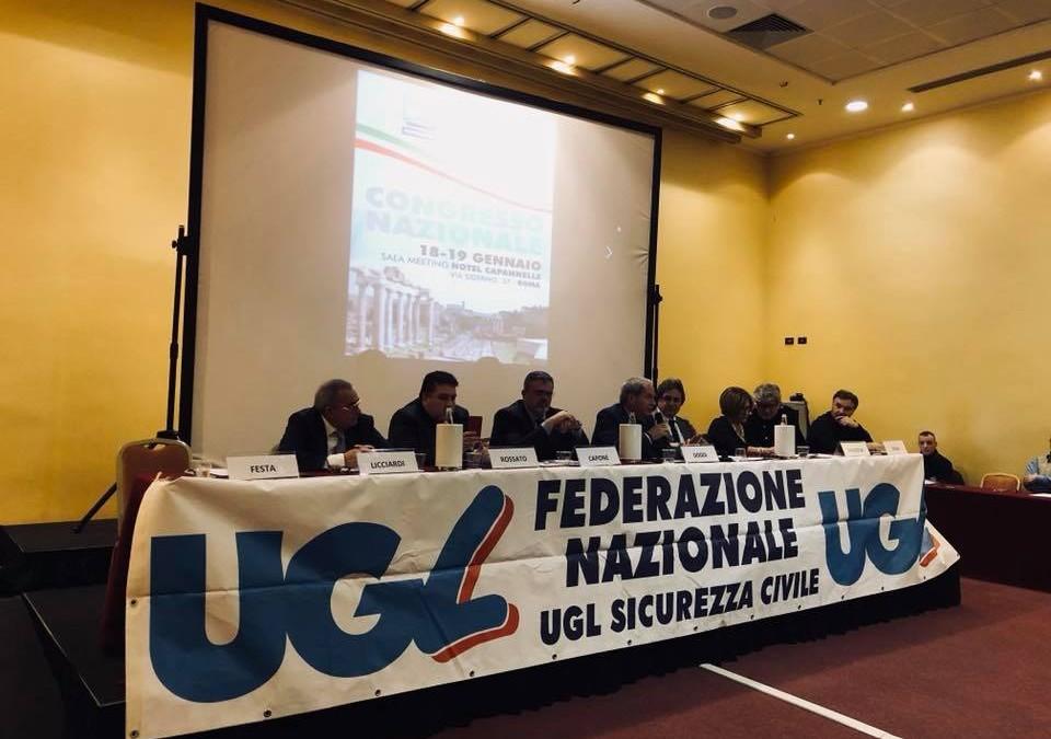Congresso Ugl Sicurezza Civile: Enrico Doddi eletto Segretario Nazionale