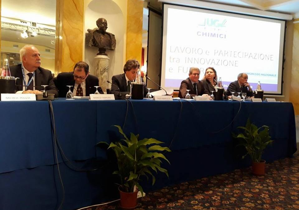 Congressi: l'Ugl Chimici conferma Luigi Ulgiati Segretario Nazionale
