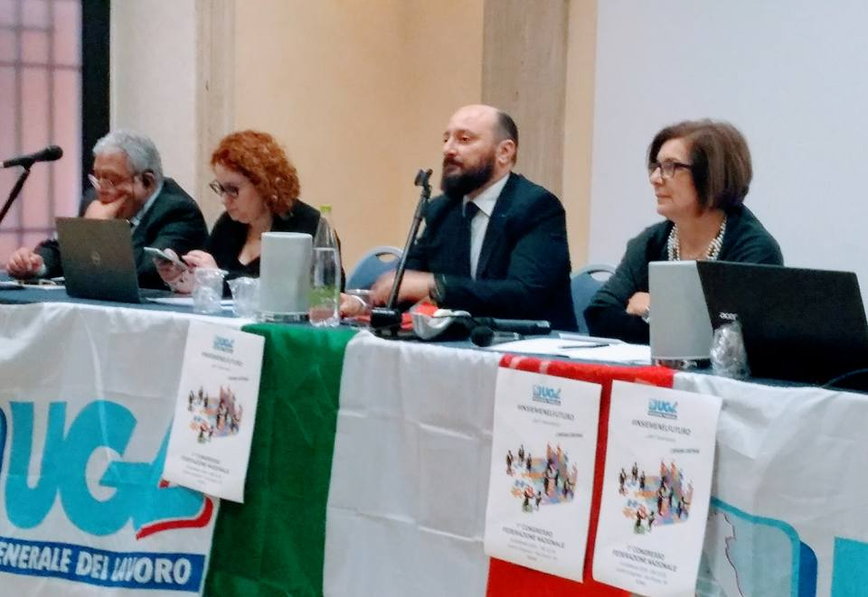 I Congresso Ugl Funzione Pubblica: Alessandro Di Stefano eletto Segretario Nazionale