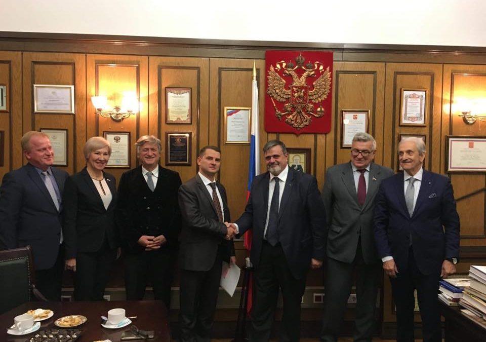 """UGL IN RUSSIA, CAPONE: """"INCONTRO CON LA COMMISSIONE LAVORO DELLA DUMA"""""""