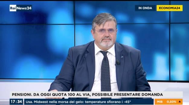 """PENSIONI, CAPONE: """"CON QUOTA 100 VERSO ESERCIZIO SOCIALE SOSTENIBILE"""""""