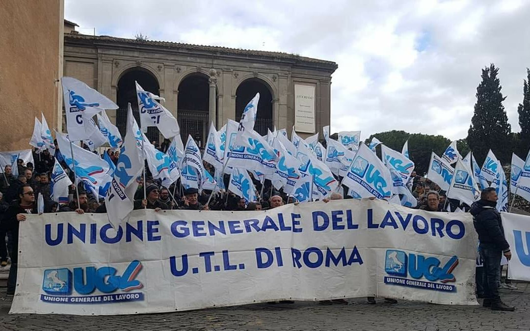 """""""#RisorgiRoma, ottimo l'inizio della piattaforma Ugl per Roma Capitale"""""""