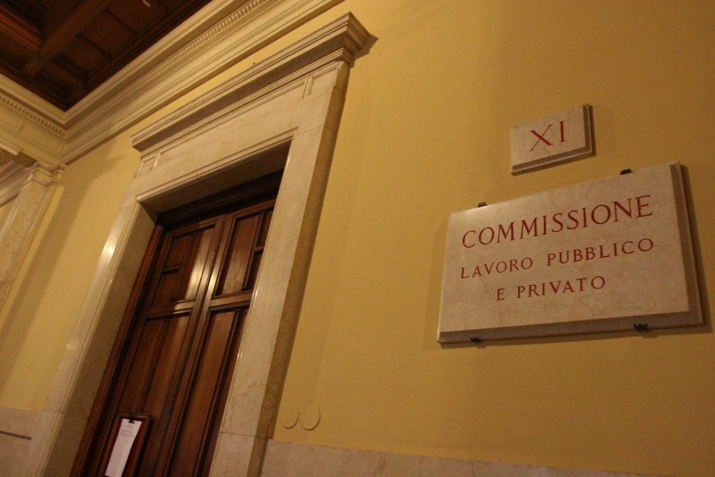 Audizione servizi ispettivi conti risultati for Commissione lavoro camera