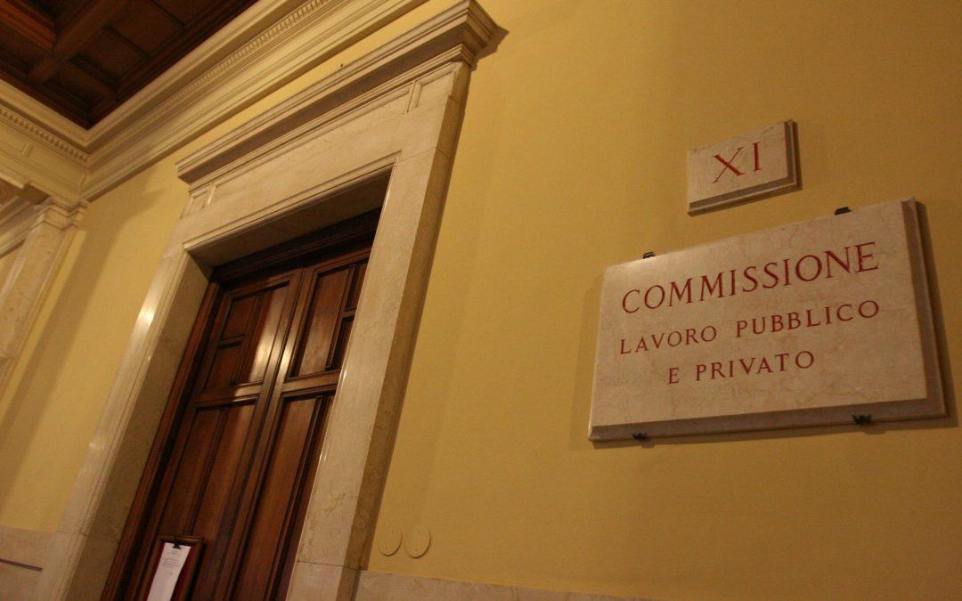 """AUDIZIONE DL Concretezza PA – """"Auspicabile un coinvolgimento della rappresentanza sindacale unitaria"""""""