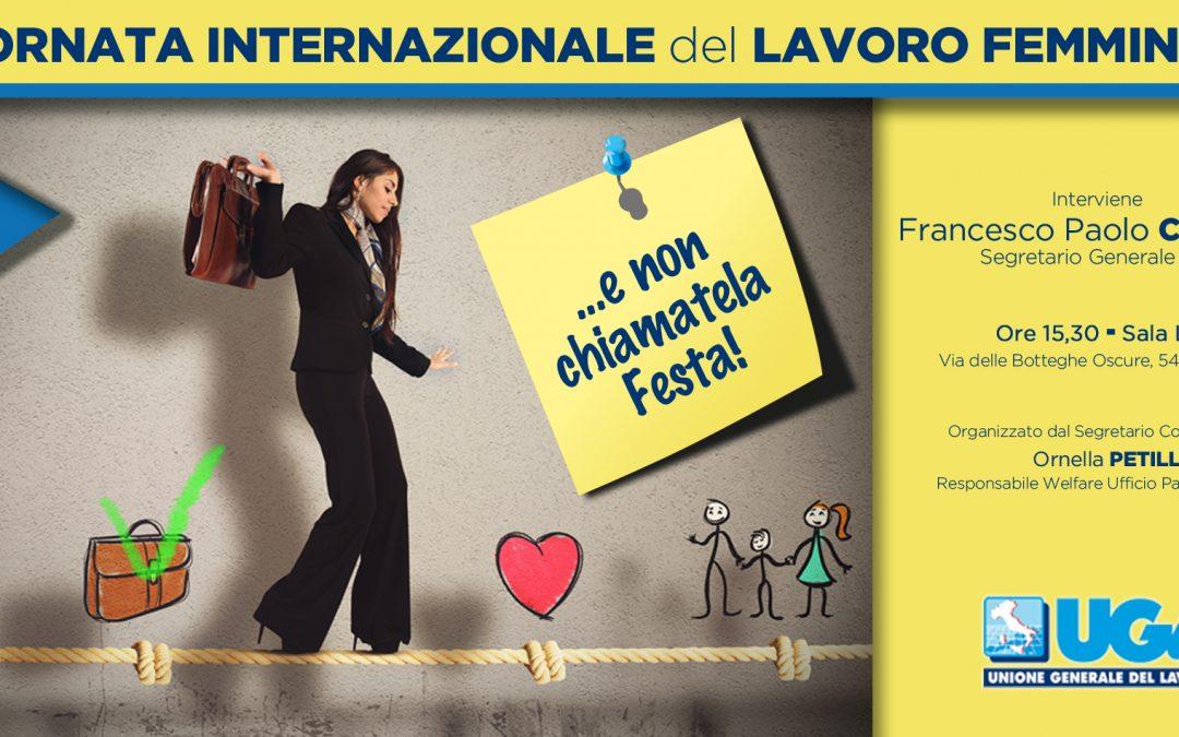 8 Marzo: Giornata Internazionale del Lavoro Femminile