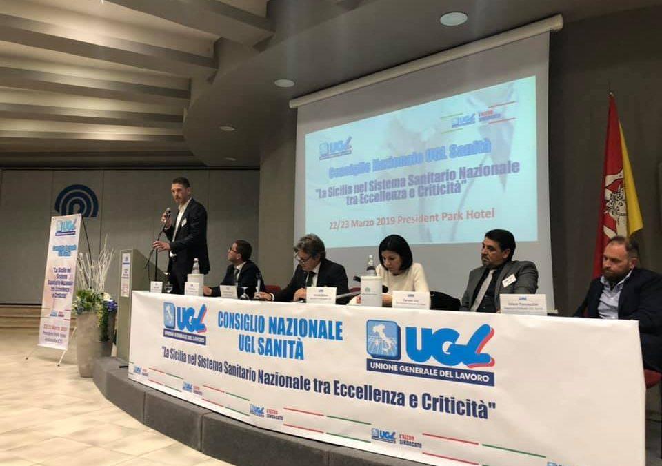 """Consiglio Nazionale UGL Sanità, Giuliano: """"Soddisfatto per l'ottima riuscita del Consiglio, un sentito ringraziamento a tutti i partecipanti"""""""