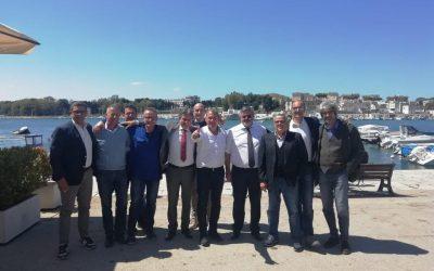 Stamattina a Brindisi con i sindacalisti Avio Aero