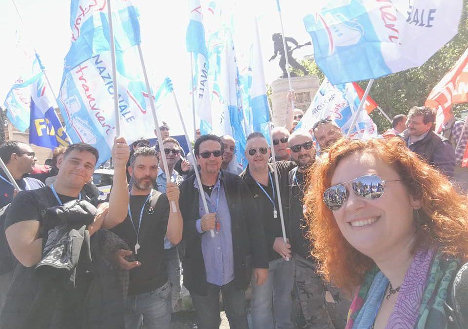 Tpl protesta unitaria sotto le finestre del Ministero Infrastrutture