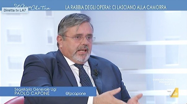 CAPONE A L'ARIA CHE TIRA E A COLLOQUIO CON ADNKRONOS