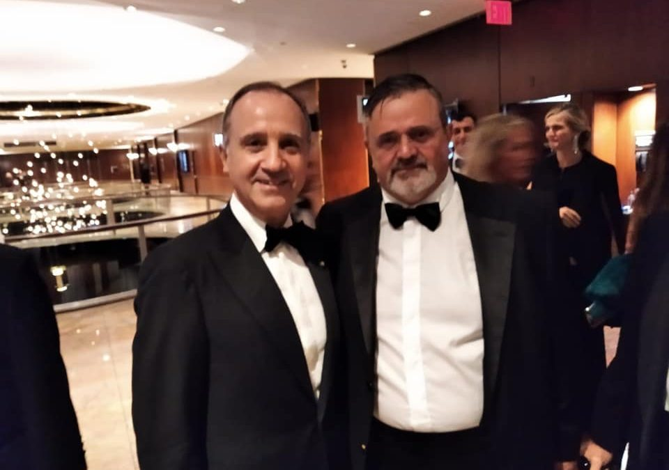 NYC: CAPONE OSPITE D'ONORE GALA COLUMBUS CITIZEN FOUNDATION