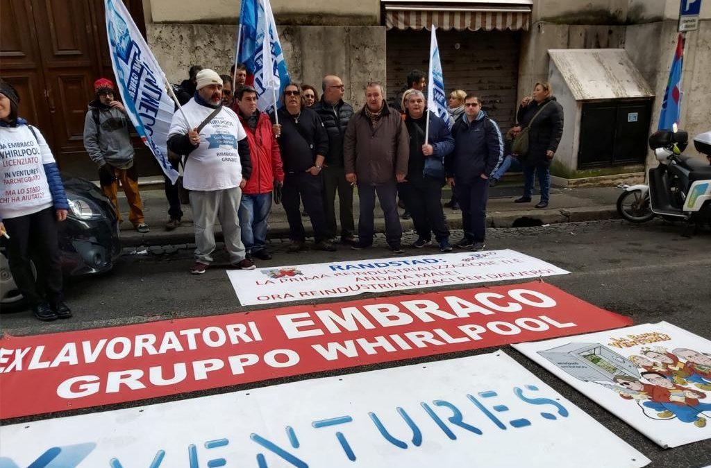 """Ex Embraco, Torino. Spera, UGL: """"Al via il nuovo progetto ItalComp"""""""