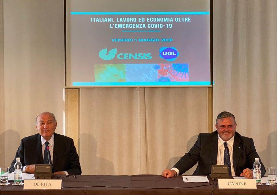 ITALIANI, LAVORO ED ECONOMIA OLTRE L'EMERGENZA COVID-19