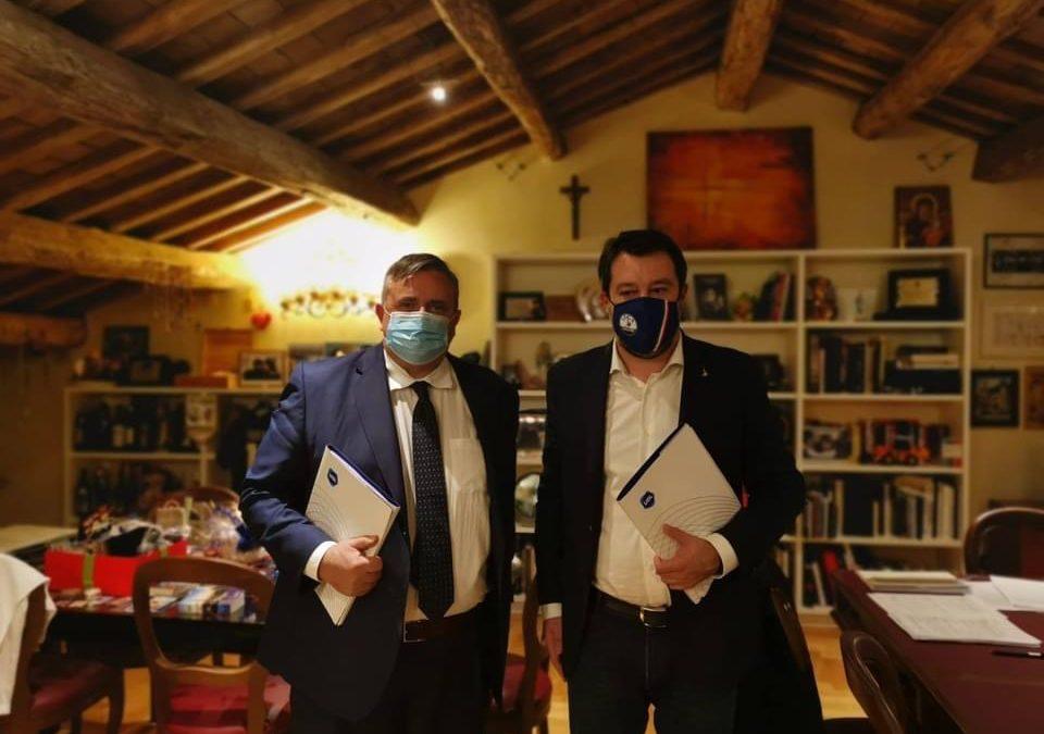 Capone incontra Salvini: proposte UGL per la finanziaria