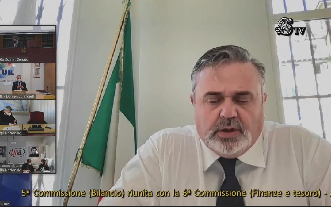 """CAPONE: """"DL SOSTEGNO PUNTO DI PASSAGGIO PER PROVVEDIMENTO PIÙ INCISIVO"""""""