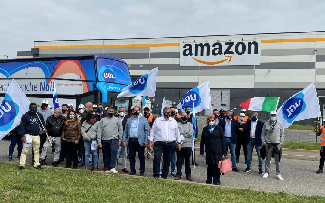 """RSU AMAZON, CAPONE: """"PER L'UGL RISULTATO IMPORTANTE"""